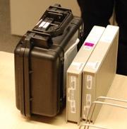Panasonic PHL-tour 3d-film aangeleverd op harde schijf of tapes voor links en rechts