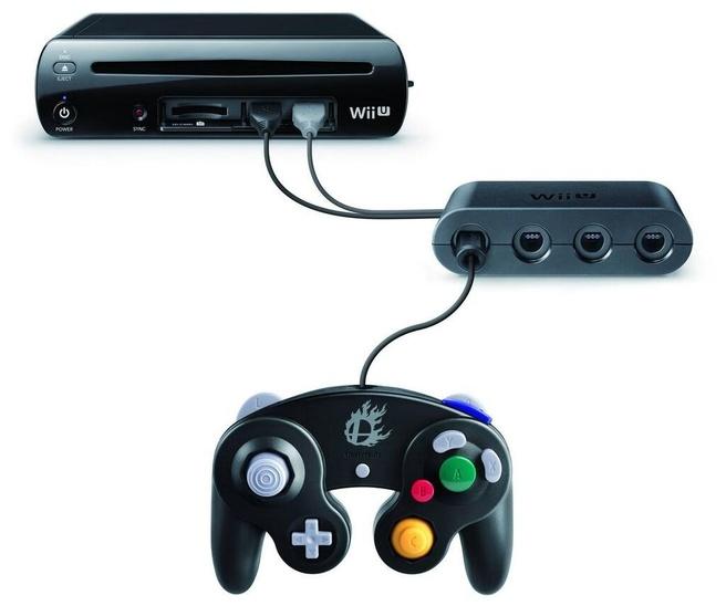 Wii U GameCube-controllers adapter