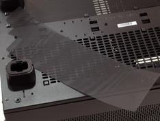 Thermaltake Core X9 filters ondervlak los