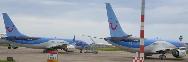 Boeing 737 Max Schiphol