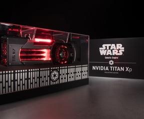 Star Wars-uitvoeringen van Nvidia Titan Xp