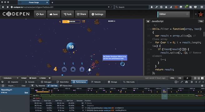 Developer Edition van Firefox