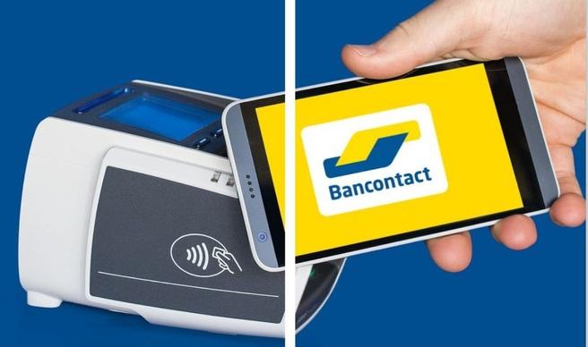 Bancontact contactloos betalen
