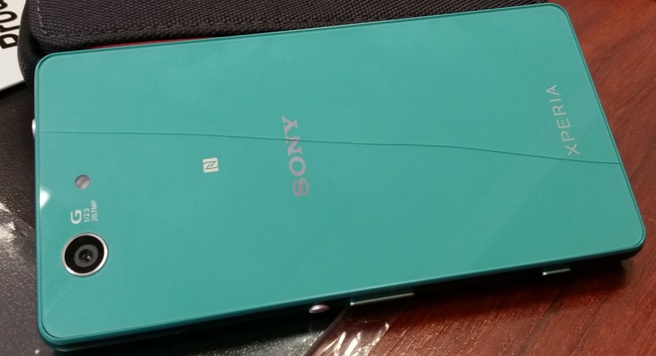 Sony Xperia Z3 Compact met barst