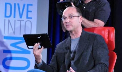 Andy Rubin Motorola tablet Honeycomb