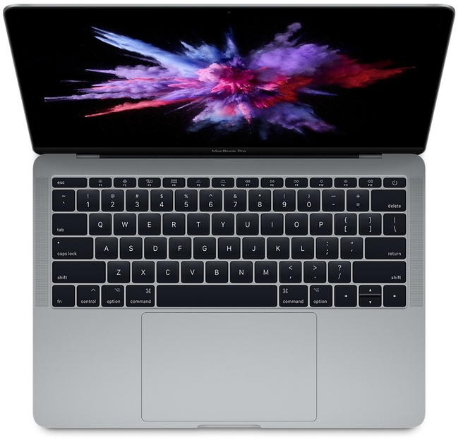 "Apple MacBook Pro 2017 13,3"" 128GB ssd Spacegrijs"