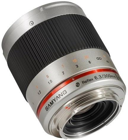 Samyang Optics 300mm Reflex f/6.3 ED UMC CS Zilver (Sony NEX)
