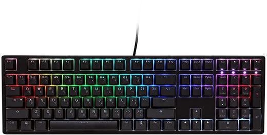 Ducky ONE RGB DKON1708ST Zwart (Qwerty US, Cherry MX Blue)