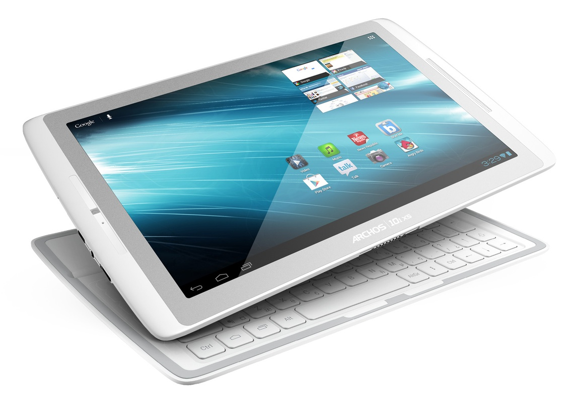 Archos 101 XS + Qwerty Coverboard Wit