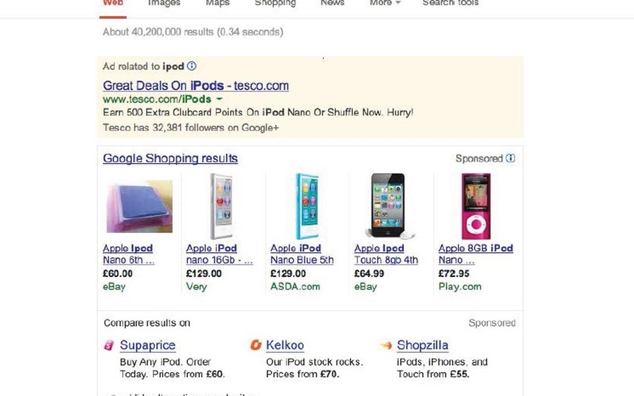 Google Almunia link ipod