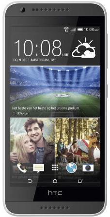 HTC Desire 620 Zwart