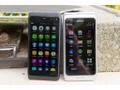 Nokia N950 naast Nokia E7