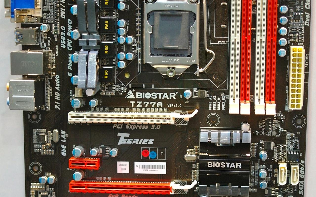 Biostar TZ77A