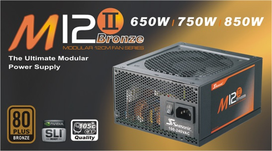 Seasonic M12II 850W 80+ Bronze