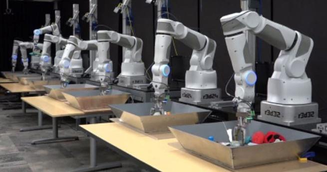 Robotarmen Google