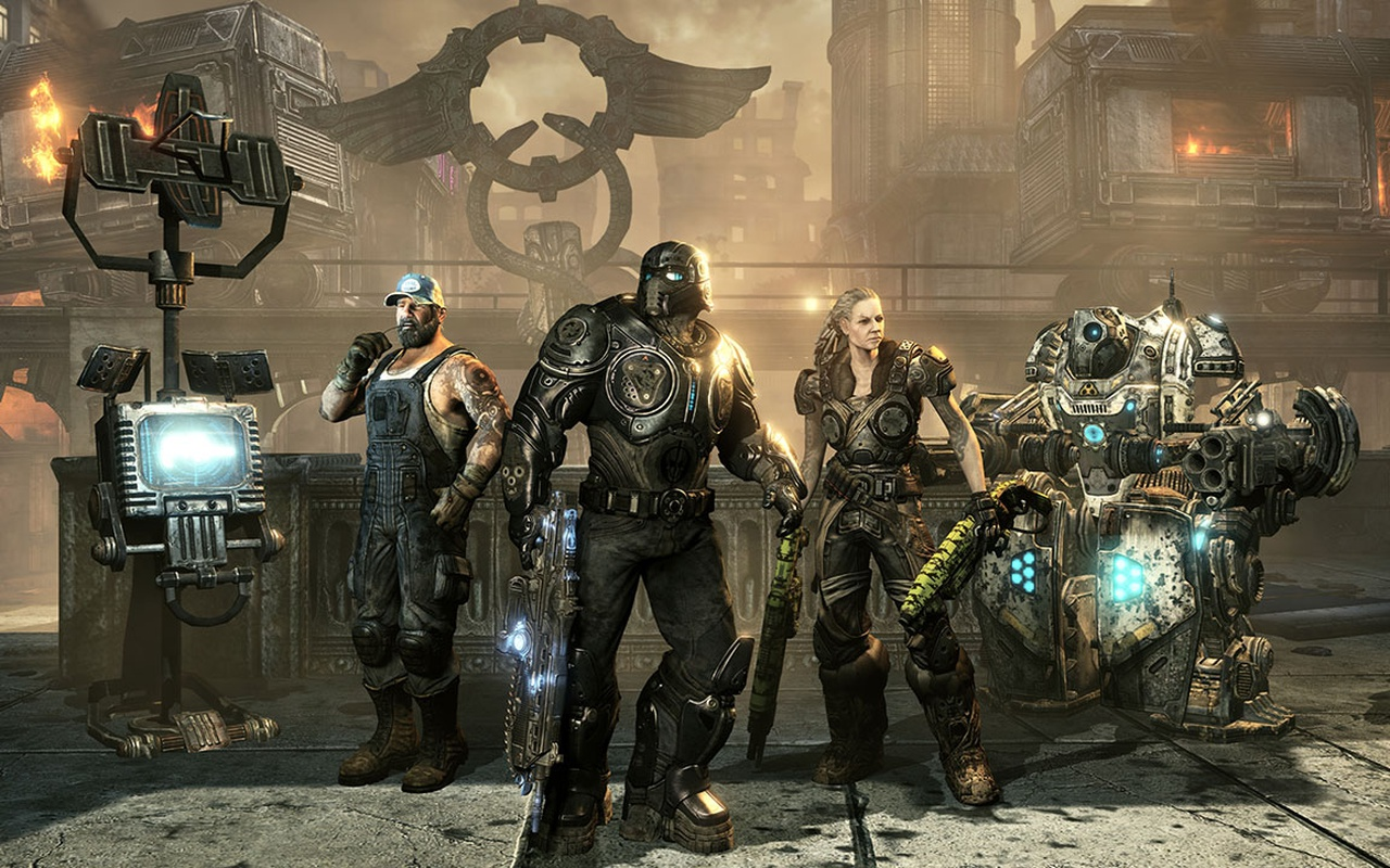 Gears of War 3: Horde Command Pack - Blood Drive