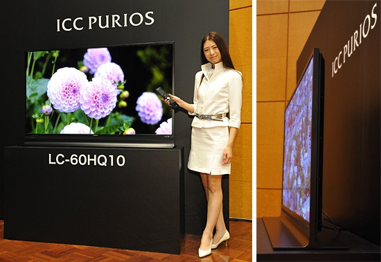 Sharp 60inch 4k ultra-hd ICC Purios