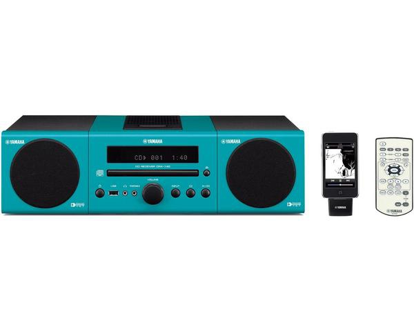 Yamaha MCR-040 (Licht Blauw)