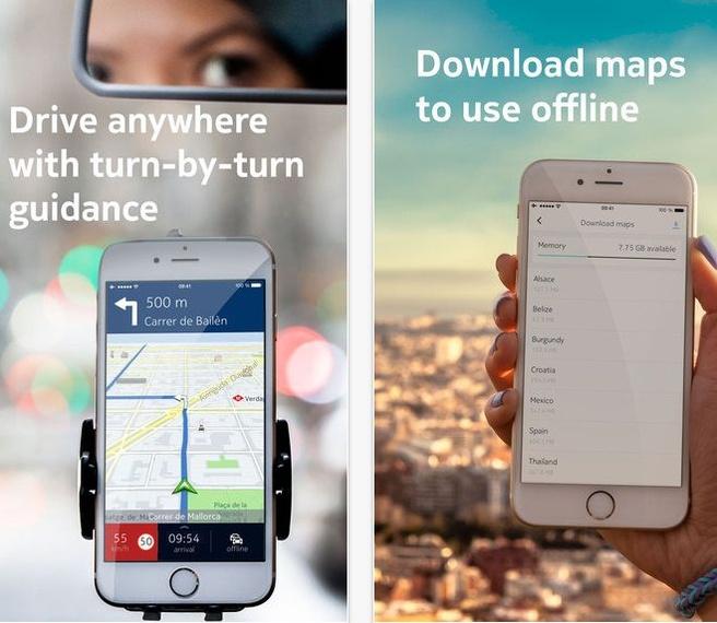 Nokia Here voor iOS