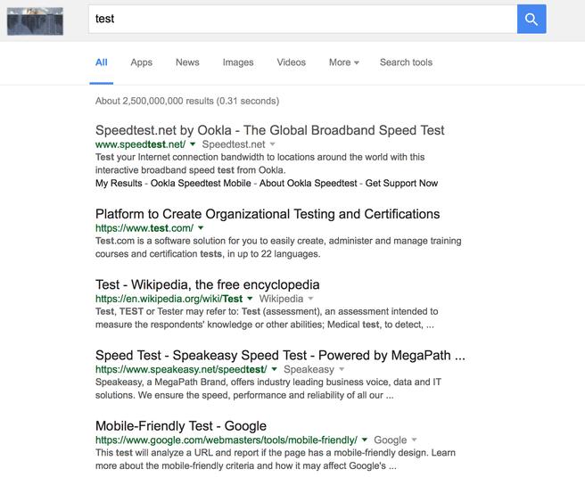 google zwart