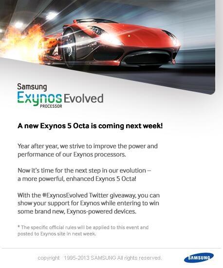 Samsung Exynos 5 Octa Evolved