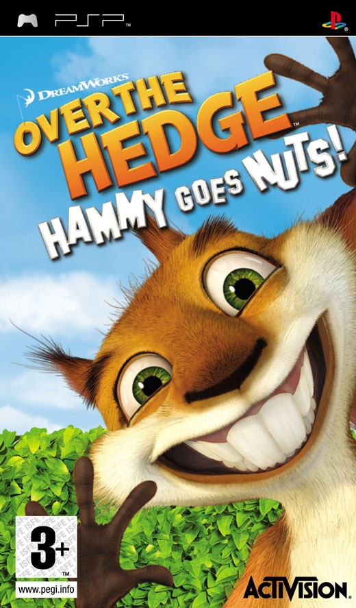 Over the Hedge - Hammy Draait Door, PlayStation Portable