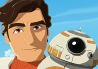 Poe en BB-8