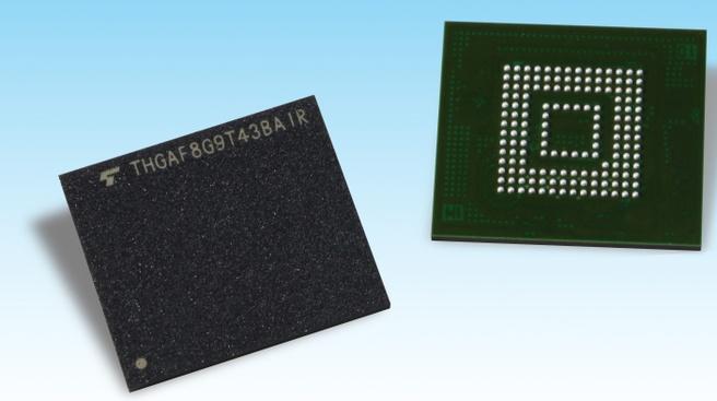 Toshiba ufs met 96-laags BiCS Flash