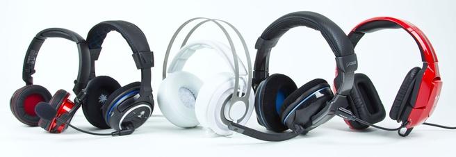 Vijf Midrange Gaming Headsets