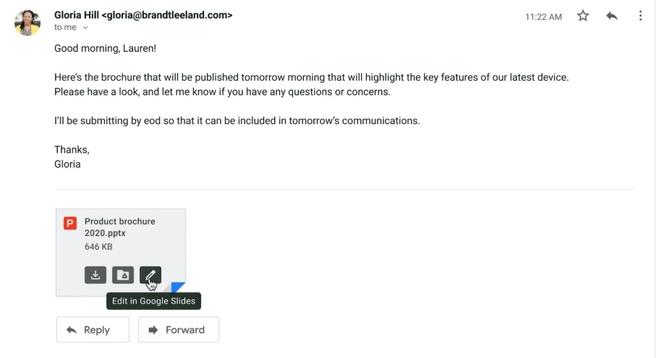 Google staat Workspace-gebruikers toe om Microsoft Office-bestanden te bewerken via Gmail – Computer – Nieuws
