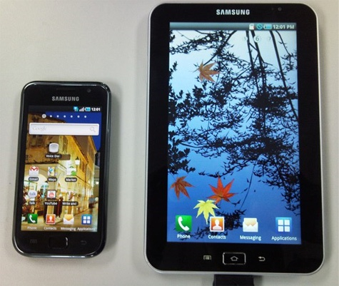 Samsung Galaxy Tab P1000-firmwarelek
