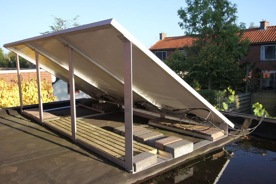 Elektriciteit opwekken met zonnepanelen pv duurzame energie domotica got - Schans handig ...