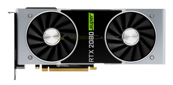 GeForce RTX 2080 Super mock-up Videocardz