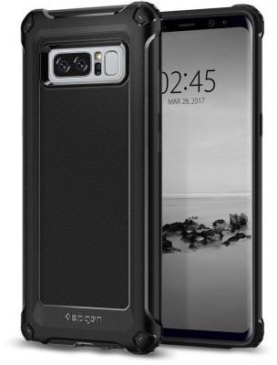 Cas D'armure Robuste Noir Pour Samsung Galaxy Note 8 Xp7YIm
