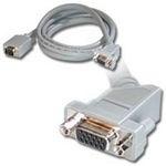 CablesToGo 0.5m Monitor HD15 M/F cable