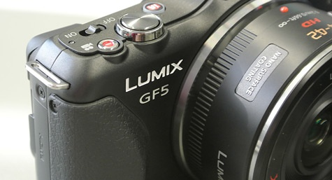 Panasonic Lumix GF5 grip
