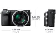 Sony NEX-6 + 16-50mm OSS f/3.5-5.6 + 55-210mm f/4.5-6.3 Zwart