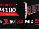 AMD FirePro W4100
