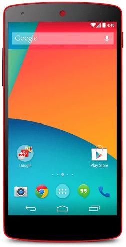 LG Nexus 5 32GB Rood Rood