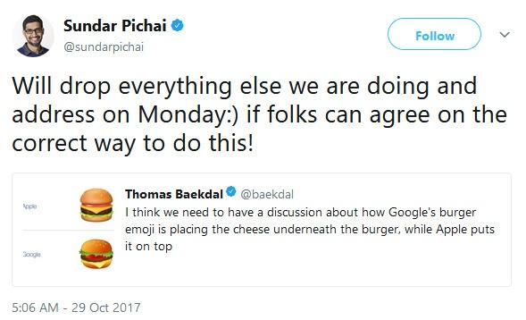 Sundar Pichai over kaas