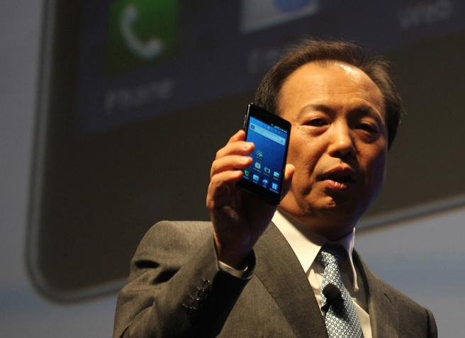 Samsung toont Super Amoled Plus op CES 2011