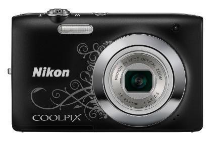 Nikon Coolpix S2600 Arabesque Zwart
