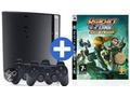 Goedkoopste Sony PlayStation 3 Slim 320GB + Ratchet & Clank Quest for Booty + Dual Shock Controller Zwart