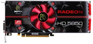 XFX Radeon HD 5850 1024 MB DDR5 DisplayPort