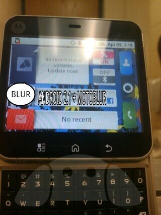Motorola vierkant toestel