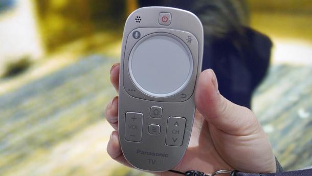 Panasonic 2013 touch pad remote