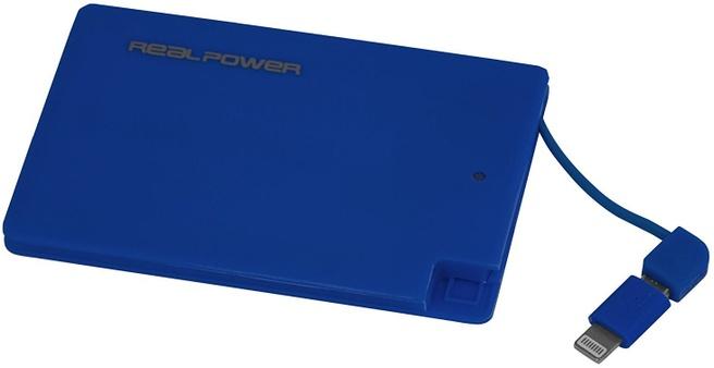 Ultron RealPower PB2500 Slim Blauw