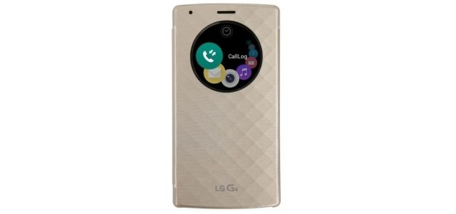 LG G4 Quick Circle Cover - CFV-100 - Gold