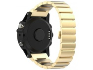 Goedkoopste qMust Metalen armband Chain Garmin Fenix 3 / Fenix 3 HR - Goud