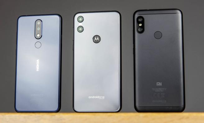 Android One - Nokia 5.1 Plus, Motorola One en Xiaomi Mi A2 Lite